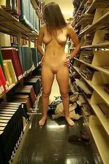 Naughty exhibitionist girls that love to be naked in public....