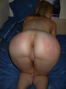 Big spanked ass